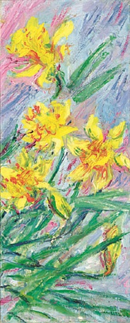 jonquilles by claude monet