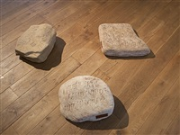 three inscribed stones by ian hamilton finlay
