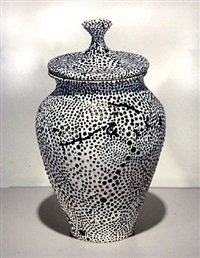 entropically beaded jar by william yonker