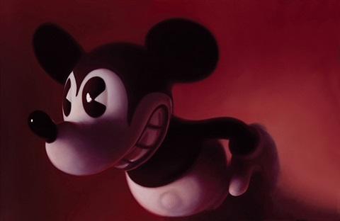 red mouse (3) by gottfried helnwein