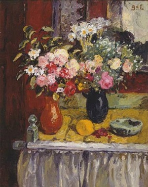 flower still life by georges d'espagnat