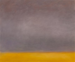 grey sun and sea, romasaig by jon schueler