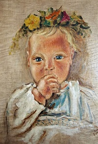 flower baby by werner drewes