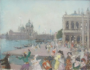 carnival in venice by dietz edzard