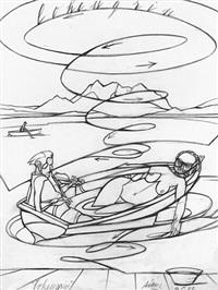 lohengrin by valerio adami