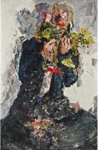 untitled #82-001 (self-portrait) by christian schoeler