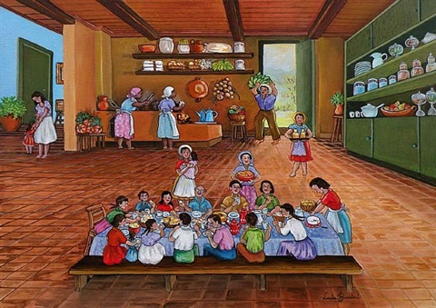 café na cozinha - breakfast in the kitchen by lucia buccini