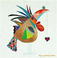 pássaro equilibrista - equilibrist bird by lucas pennacchi