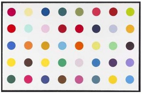methyl phenylsulfoxide by damien hirst