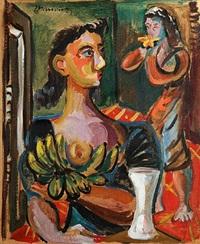 mujeres en interiror by mariano rodríguez