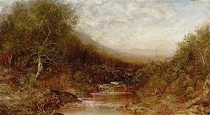 autumn landscape by ralph albert blakelock