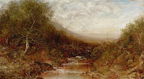 autumn landscape by ralph albert blakelock