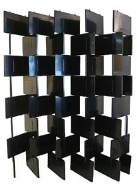 "folding ""block"" screen by eileen gray"
