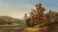 on the hudson by charles volkmar