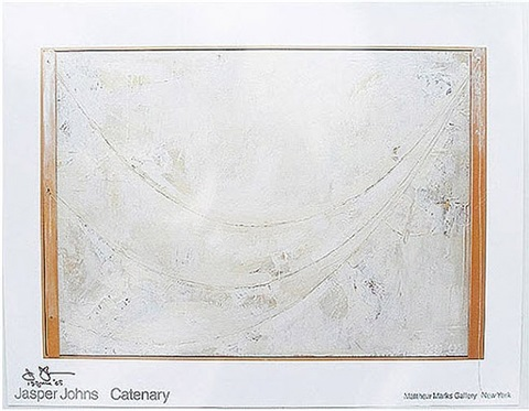 catenary by jasper johns
