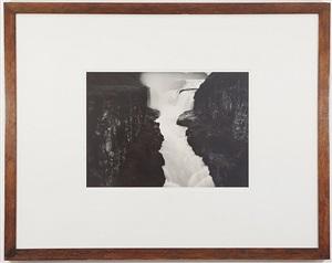 a premonitional work, gulfoss (golden falls), iceland by thomas joshua cooper