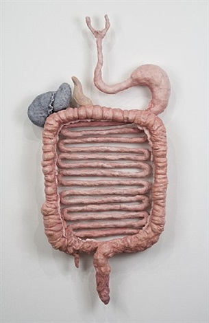 dream object (digestive tract sculpture) by jim shaw