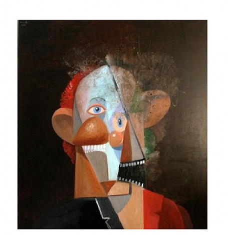 the comedian by george condo