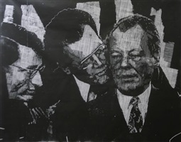 willy brandt und günter guillaume by thomas kilpper