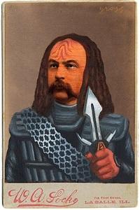 untitled (klingon) by alex gross