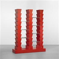 adesso peró (but now) bookcase by ettore sottsass