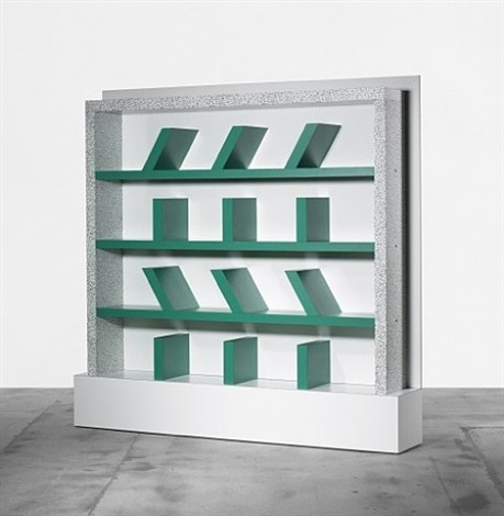 survetta bookcase by ettore sottsass