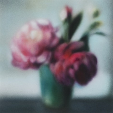 silk peonies by ben schonzeit