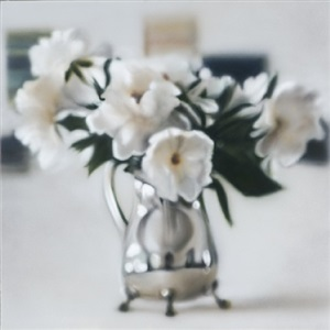 peonies blur (large) by ben schonzeit