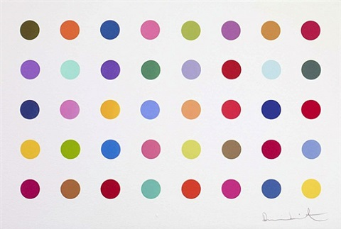 ethylamine by damien hirst