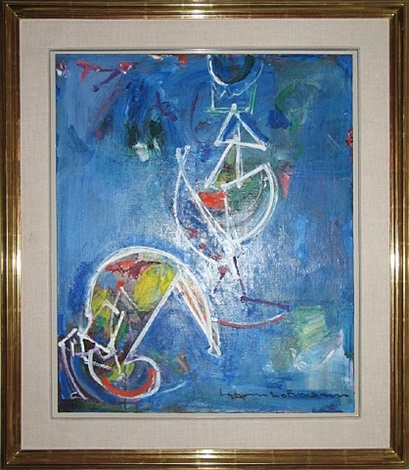 white object by hans hofmann