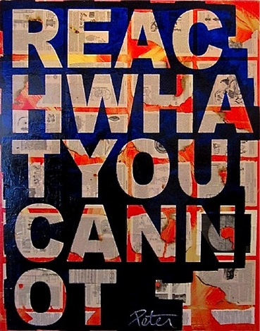 reach what you cannot by peter tunney