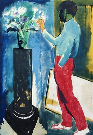 seine blumen ii by rainer fetting