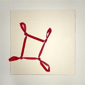 tied corners square by jill baroff