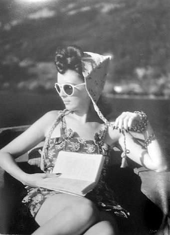 florette, lac d'annecy, august 1943 by jacques henri lartigue