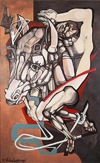 horseman (centaur) by ernst neizvestny