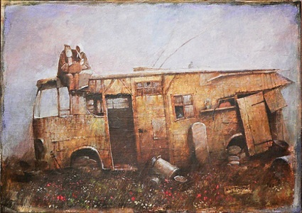 last trolley by alexander antonyuk