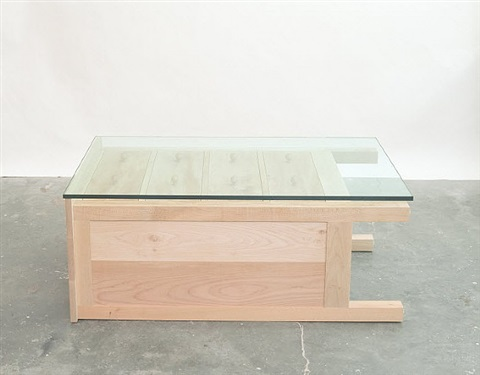 untitled (table chest) by roy mcmakin