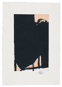 elegy fragment ii by robert motherwell