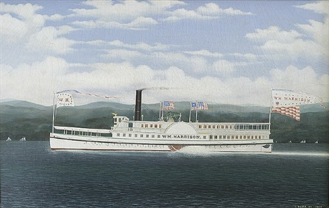 the steamboat william harrison by james bard