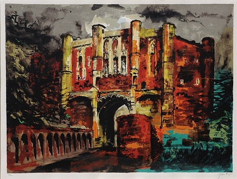 thornton abbey gateway by john piper