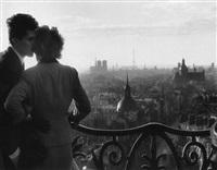 les amoureaux de la colonne bastiile by willy ronis