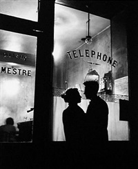 devant chez mestre by willy ronis