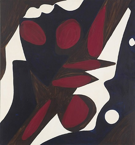 dark and white by ernst wilhelm nay