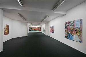 installation view by kira wager