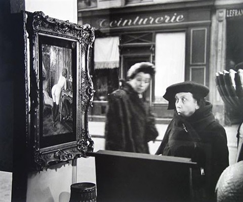 la dame indignee by robert doisneau