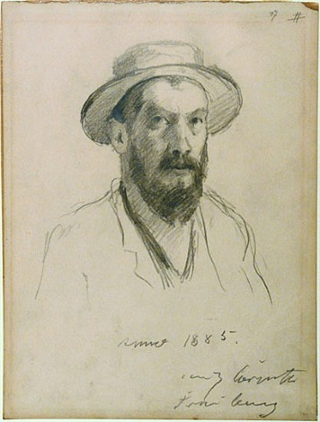 self-portrait by lovis corinth