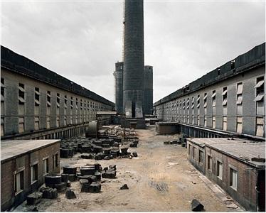 old factories #1, fushun aluminum smelter, fushun city, liaoning province, china by edward burtynsky