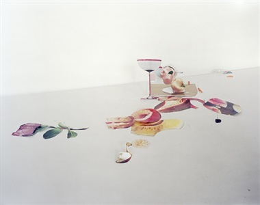 untitled #8 (from the series: ill form and void full) by laura letinsky
