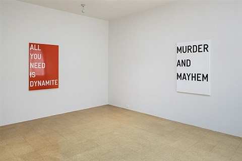 installation view by rirkrit tiravanija