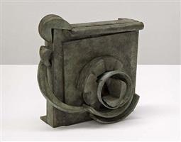 "small bronze ""doxy"" by anthony caro"